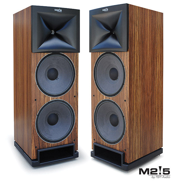 PBN AUDIO - M2!5 LOUDSPEAKER   Sometimes magic happens – when you blend the finest technologies with a consummate design. Peter Noerbaek's home theater and listening room was the setting, and one of America's most discerning and technically proficient ...
