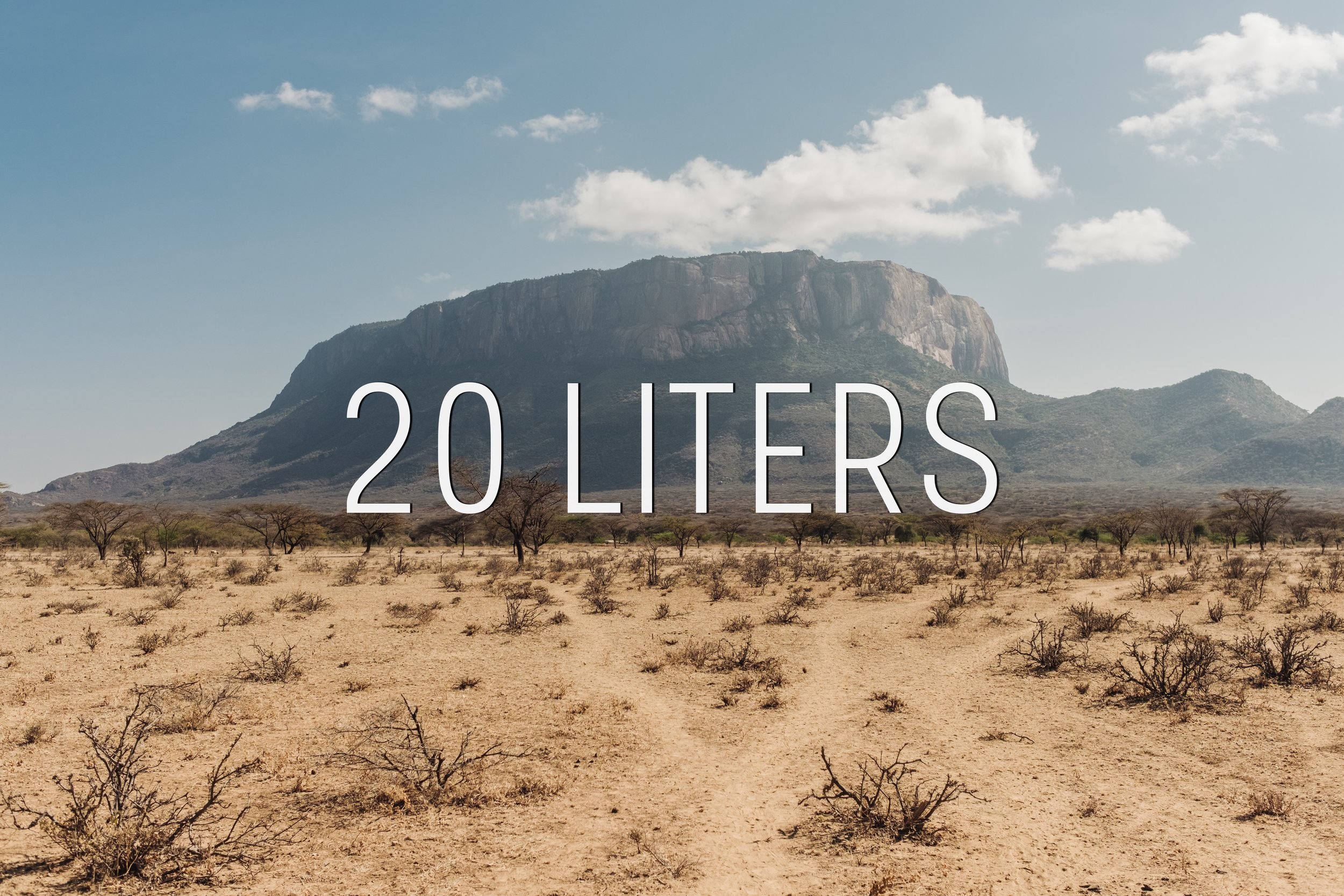 YG Presents 20 Liters.  Finding water is a daily struggle for the families of the Samburu tribe in Kenya. Aaron Thomas and Andy Seiler traveled there to see their way of life first hand, and to give others a glimpse of their daily challenges. Join us March 30th, 10:15AM at YG Church where Aaron and Andy will share about their experience.
