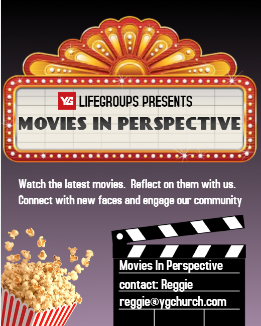 MOVIES IN PERSPECTIVE // ALADDIN // MAY 25TH 8:30PM   Next showing, Aladdin, May 25th, 8:30PM. Watch the latest movies. Reflect on them with us. Connect with new faces and engage our community. Email  Reggie Sharper  to RSVP and to get additional information including location and cost.