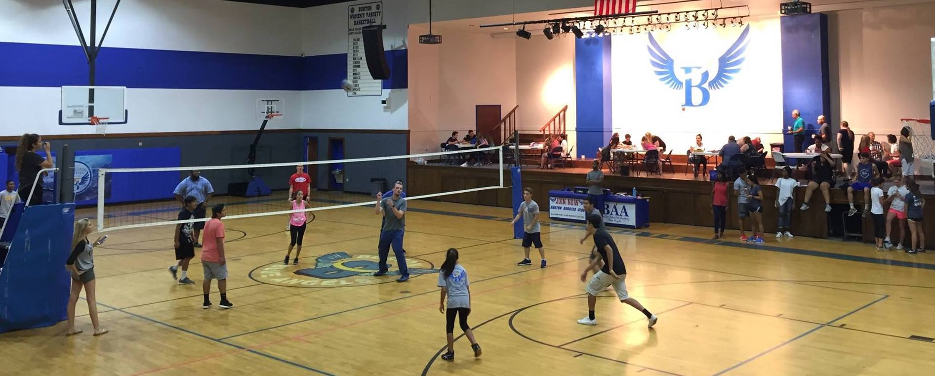 WOMEN'S VOLLEYBALL // SUNDAYS 5PM   Meets at Burton Adventist Academy Hayes Gym. This is exclusively for church ladies 18 and older. Location: Burton Adventist Academy Hayes Gymnasium, 4611 Kelly Elliott Rd, Arlington For more information contact  Connie Dickerson .