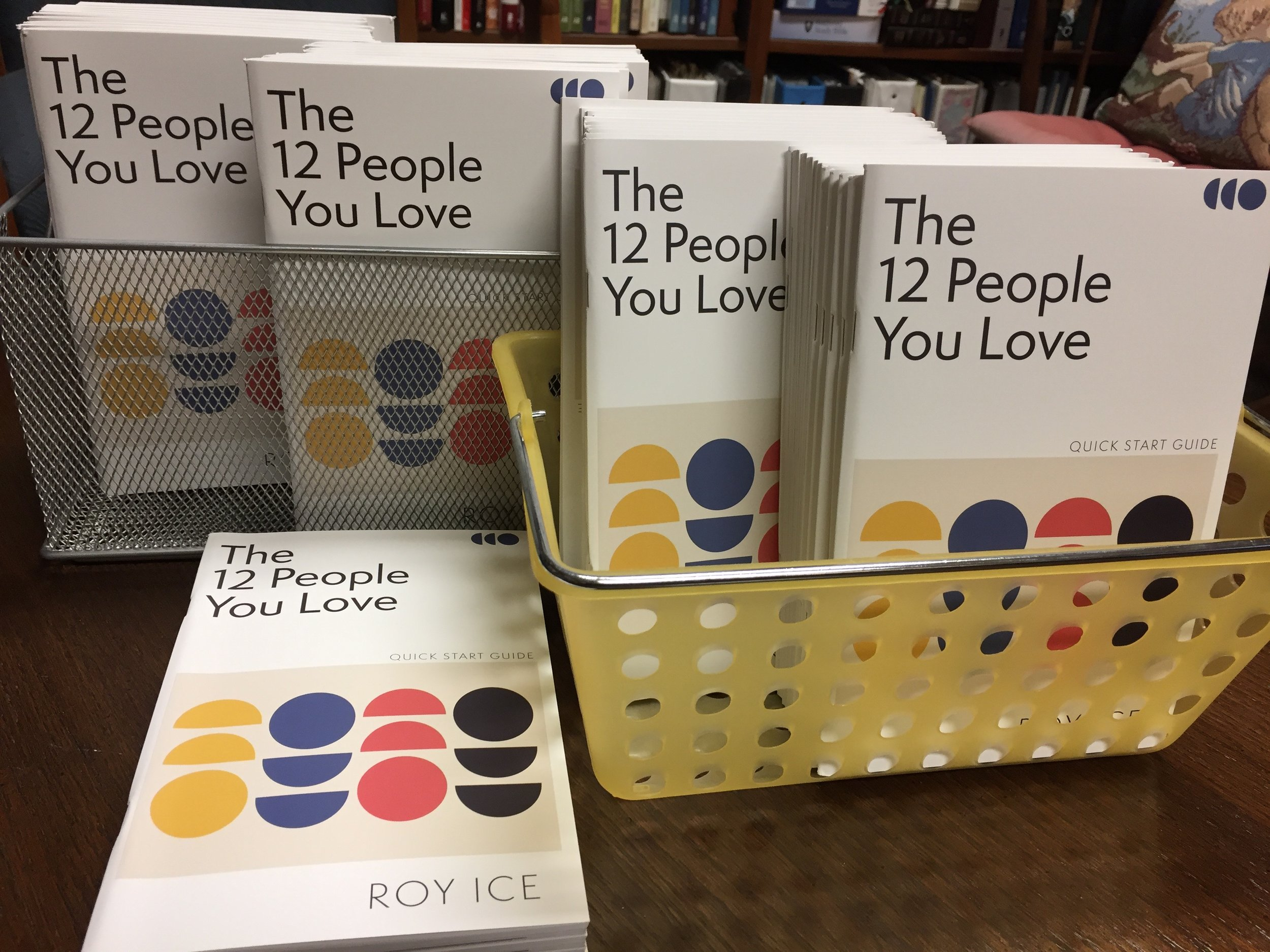 "GET YOUR BOOKLET   For our series, ""The 12 People You Love,"" we are encouraging everyone to have one of the booklets to fully participate in our series. You can order copies online at  https://my12people.com ."