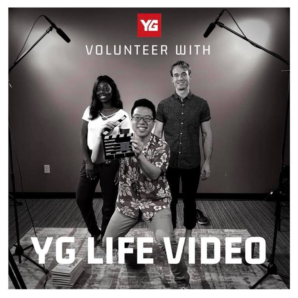 YG LIFE VIDEO TEAM |    volunteer.ygchurch.com      Share your artistry with the YG LIFE production team as they come together once a month in doing various film projects for the glory of God.  Talents needed in:  • Videography • Audio Engineering • Scripting • Lighting • Hosting • Editing • Producing  #BeJesus #BeYG #Intimacy #Community #Grace #Worship #Love #Fellowship #Media #Production