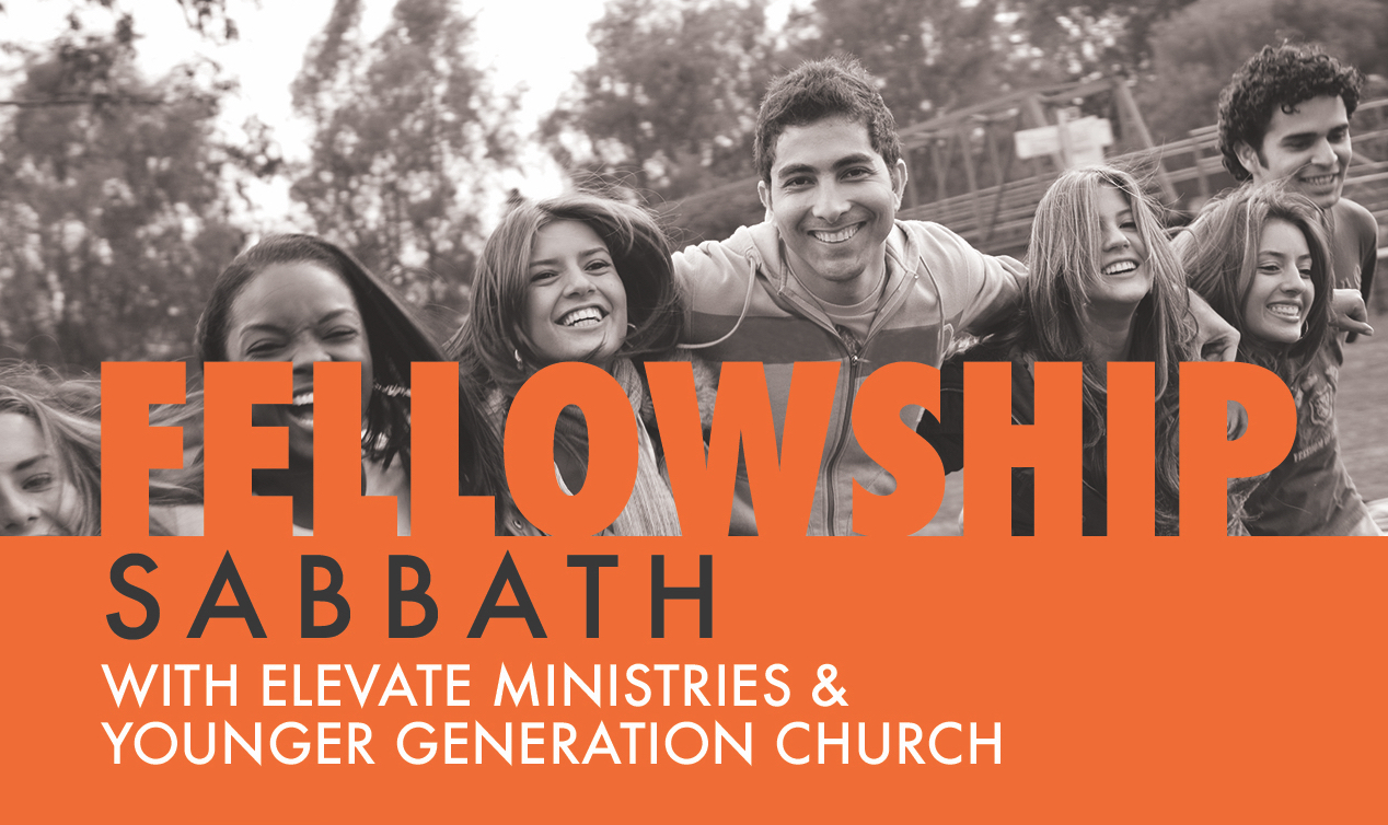 FELLOWSHIP SABBATH @ KEENE CHURCH • SEPTEMBER 21  Younger Generation Church will be leading worship at the Keene Seventh-day Adventist Church and all collegians and young adults are especially invited. In partnership with Elevate Ministries and SWAU Spiritual Life and Development, Sabbath activities and a Saturday night social have been planned to build community and foster new relationships. Go to events.ygchurch.com for more information.