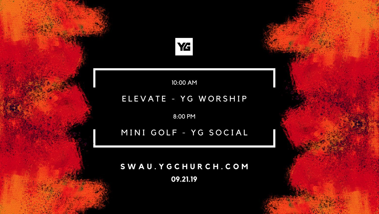 ATTENTION YOUNG ADULTS, ESPECIALLY COLLEGIANS!  We've partnered with Elevate Ministries, SWAU, and YG to make this an inspiring and fun weekend for all our young adults no matter where you are going to college/university. Join us at Elevate Ministries as YG leads out at their worship service. Continental breakfast will be available, 9:15AM, in the lobby preceding the worship experience. Pastor Allan Martin will be preaching. swau.ygchurch.com   Saturday night , following a collaborative sundown worship experience in Burleson, we are heading to  Buffalo Nickels Mini Golf & Arcade  for a fun evening in Burleson. YG's got your entry fee covered and Southwestern Adventist University's Student Association team will be organizing transportation. Plan on joining us for the entire day! For more information contact info@ygchurch.com