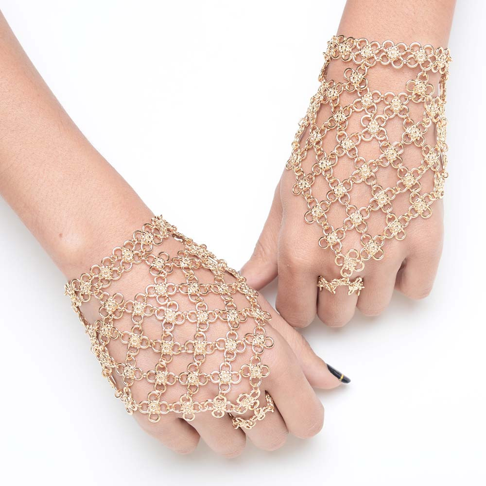 Golden Henna Hand Chain $15 (on sale from $48)