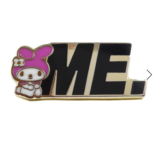 ME x My Melody Logo Pin $10