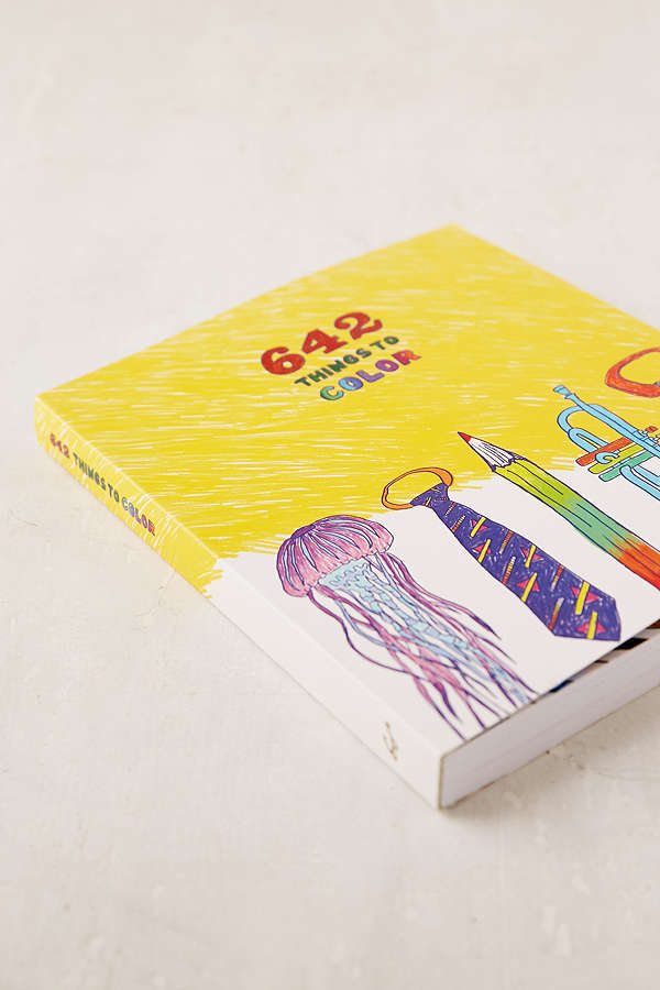 642 Things To Color $14.99 (on sale from $16.00)