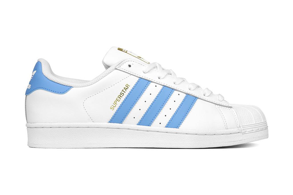 adidas Originals Superstar in Baby Blue
