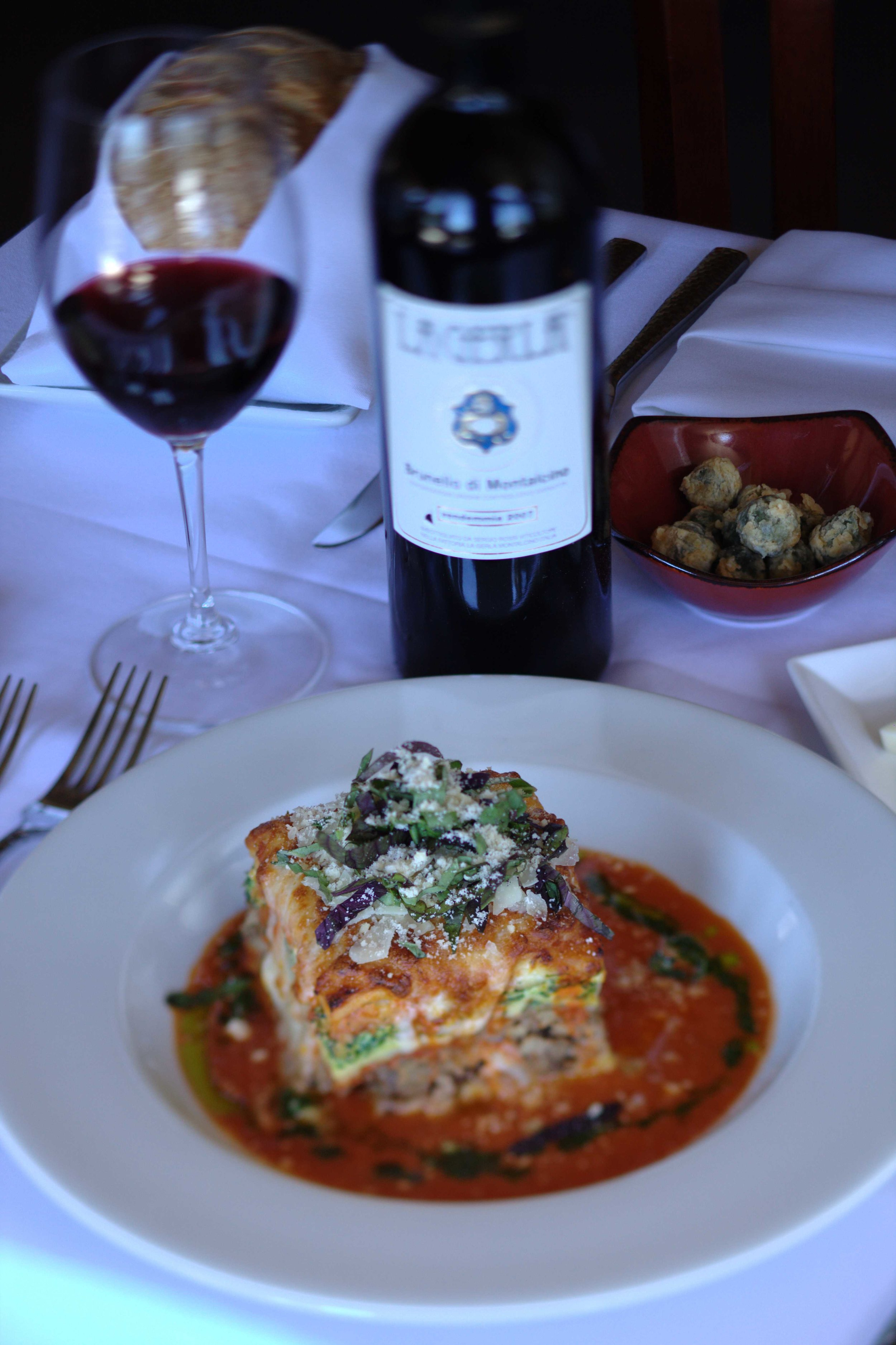 Entrees - Our handcrafted dishes use locally-sourced ingredients for truly inspirational cuisine