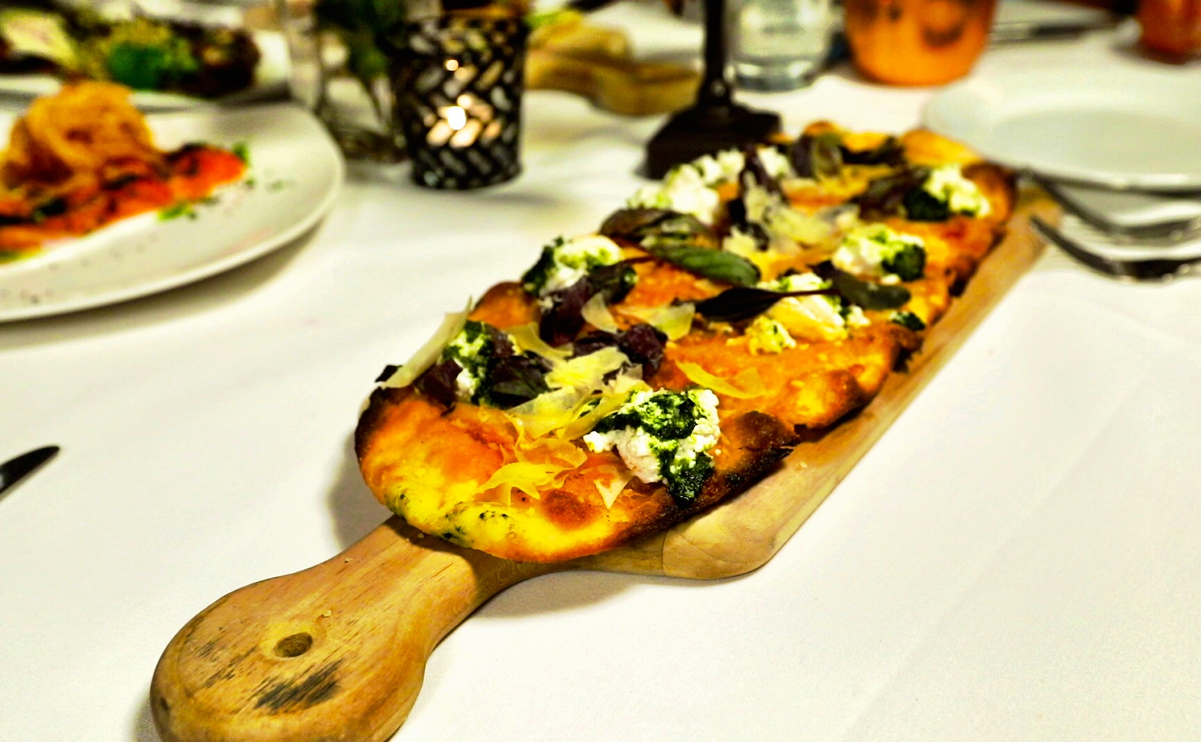 flat bread - A delicious selection of flat bread for lighter fare