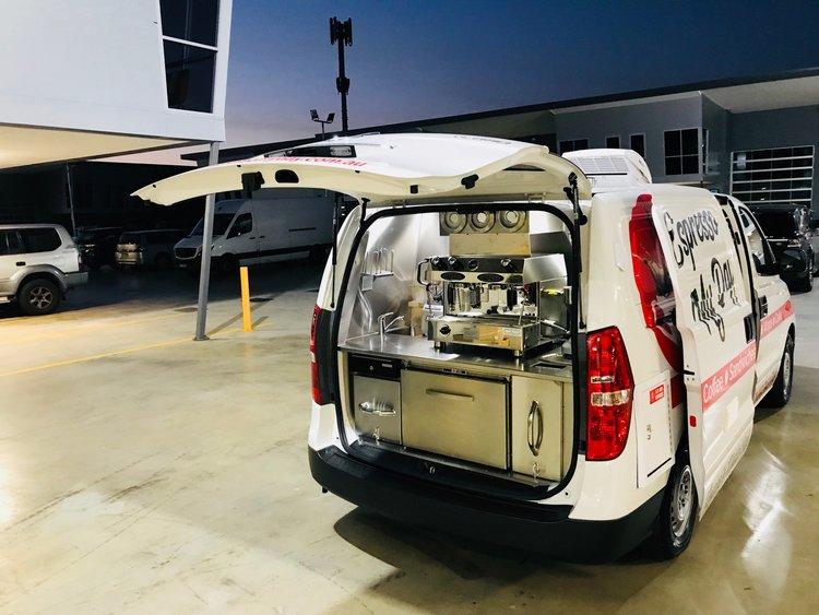 Custom Coffee Vans