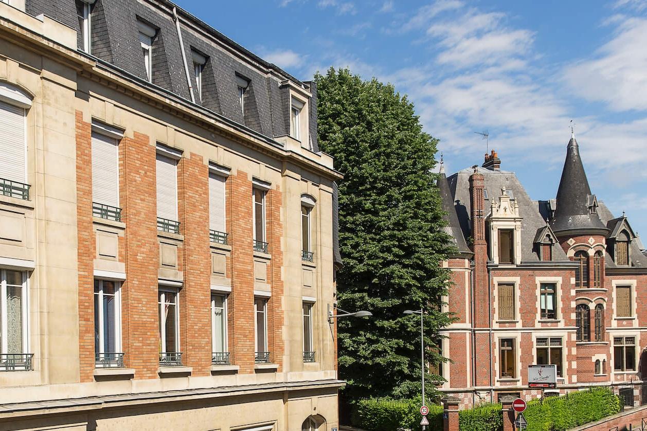 LE CLOS SÉNARD - ROUEN37 appartements du T1 à T4 de 39m2 à 110m2 à partir de 89.000€
