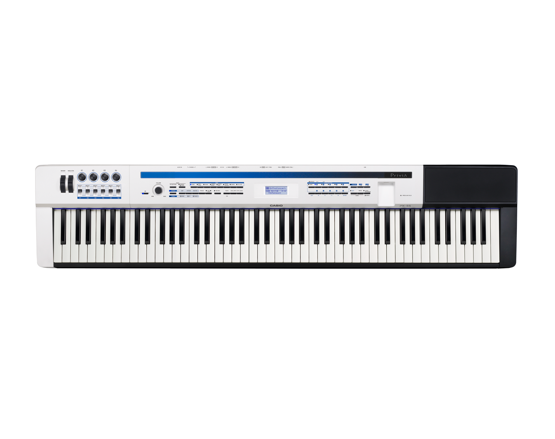 Casio PX-5SWE Digital Stage Studio Piano top