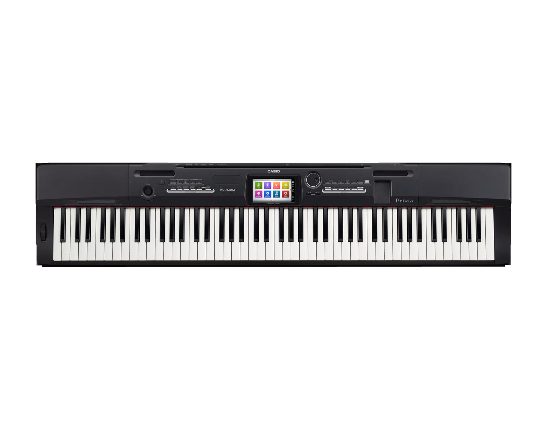 Casio PX-360BK Digital Stage Studio Piano top
