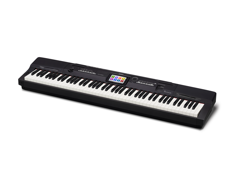 Casio PX-360BK Digital Stage Studio Piano side