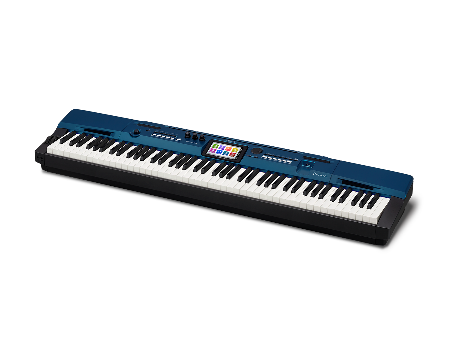 Casio PX-560BK Digital Stage Studio Piano side