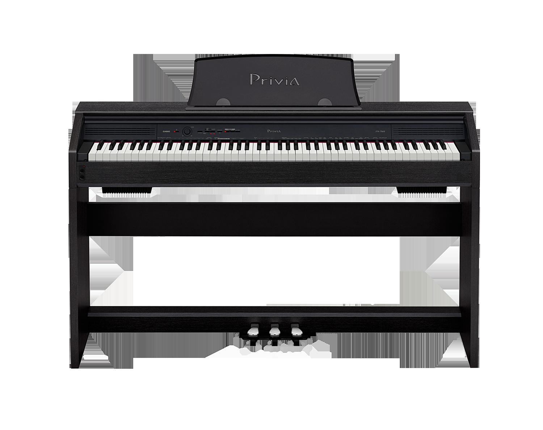Casio PX-760 Privia digital piano front