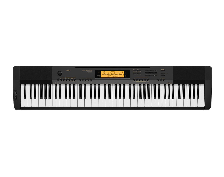 Casio CDP-230RBK Compact Digital Piano top