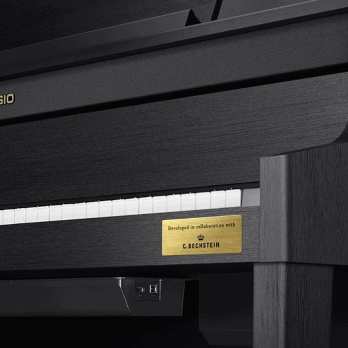 Casio GP-400BK Grand Hybrid piano C. Bechstein plate