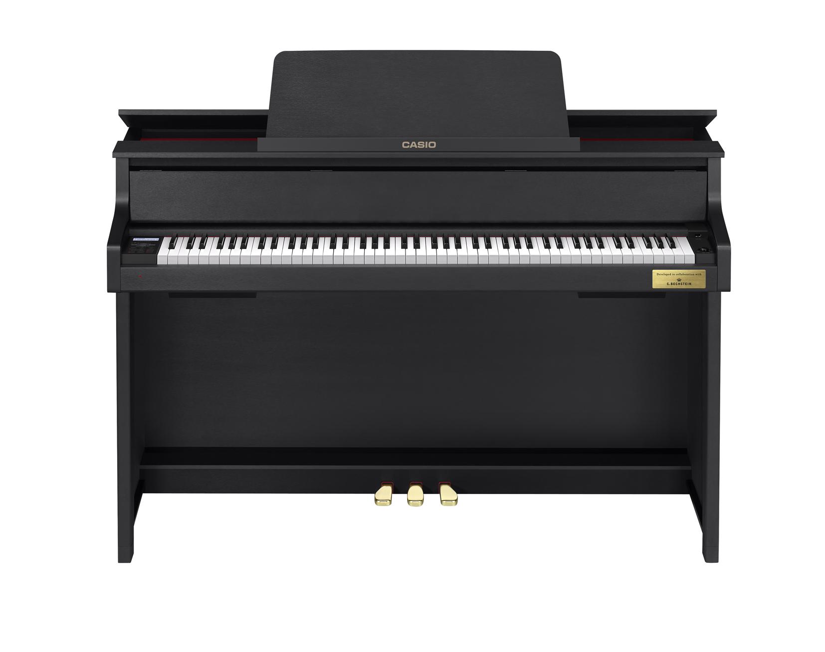 Casio GP-300BK Grand Hybrid Piano front