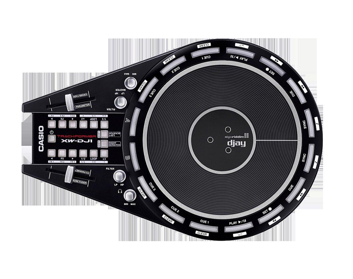 Casio XW-DJ1 Product Image Top