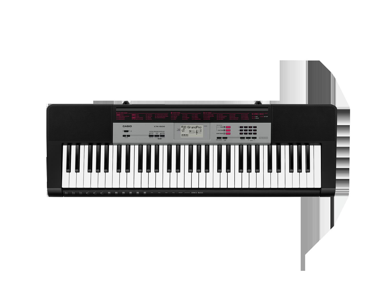 Casio CTK-1500 portable keyboard image top
