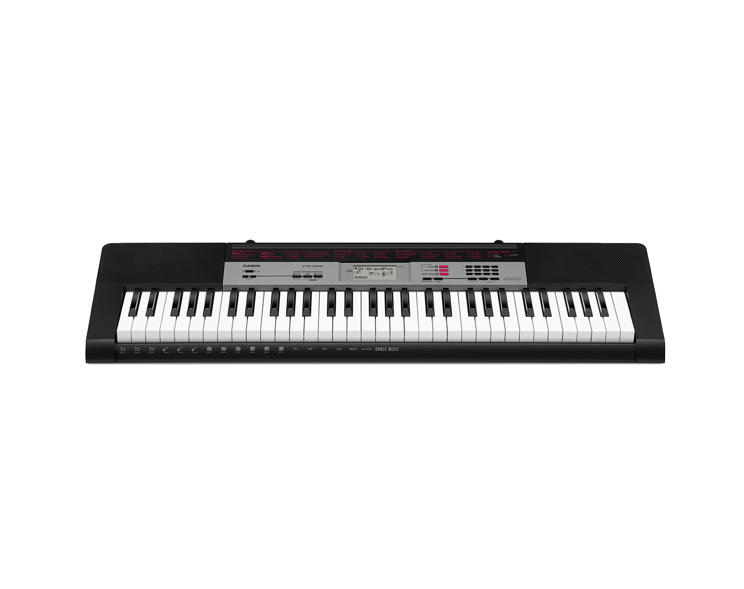 Casio CTK-1500 portable keyboard image front