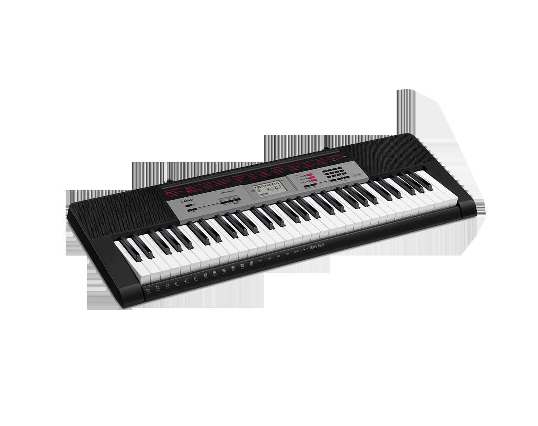 Casio CTK-1500 portable keyboard image side