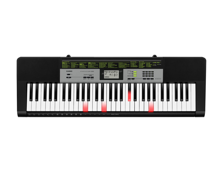 Casio LK-135 key lighting keyboard image top