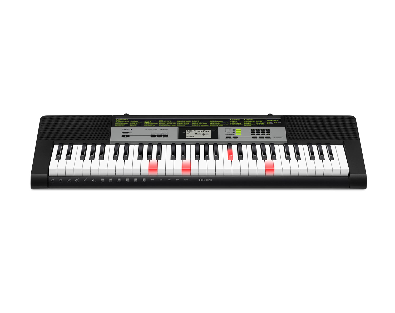 Casio LK-135 key lighting keyboard image front