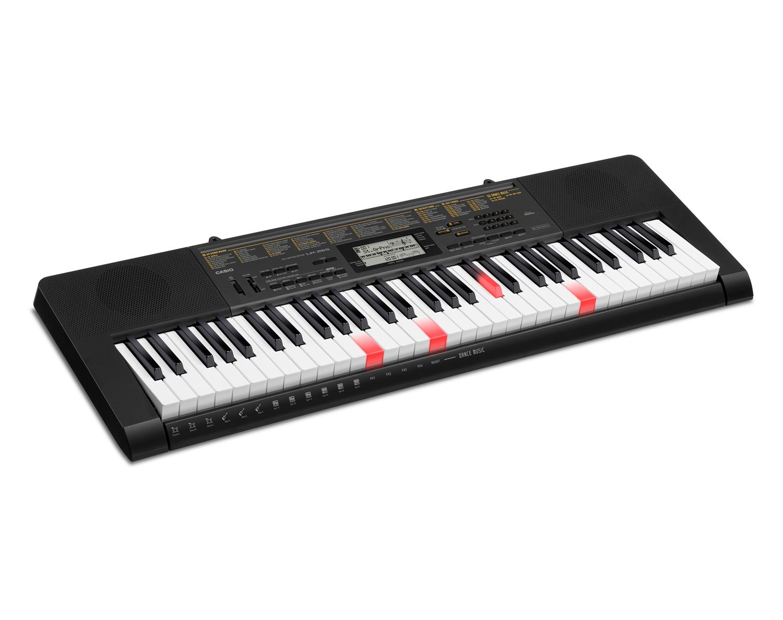 Casio LK-265 key lighting keyboard image side