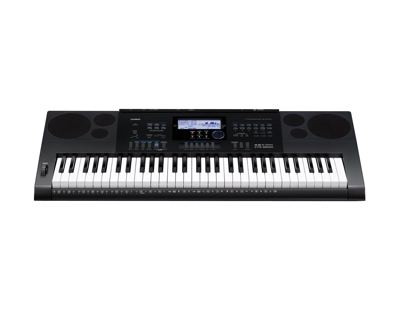 Casio CTK-6200 high grade keyboard image front
