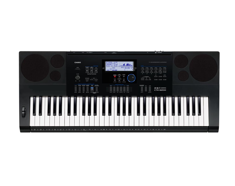 Casio CTK-6200 high grade keyboard image top