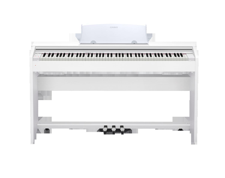 Casio PX-770 Privia digital piano front