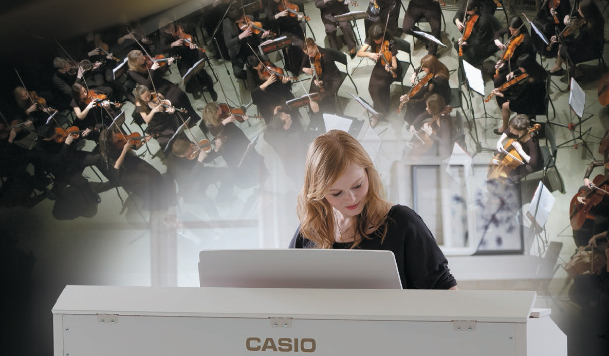 Casio concert Play makes the px-760 the best digital piano for beginners