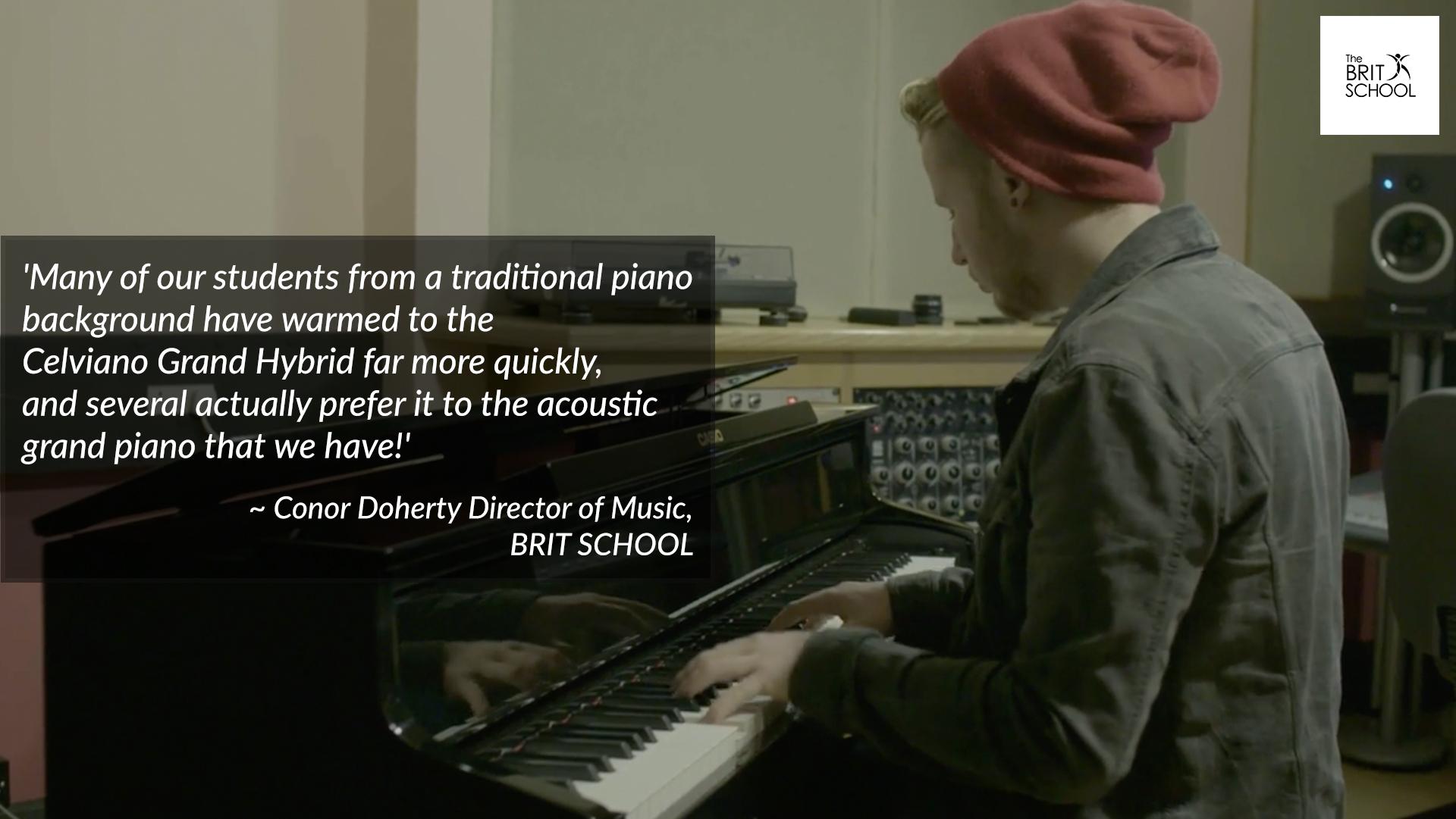 Conor Doherty - BRIT SCHOOL