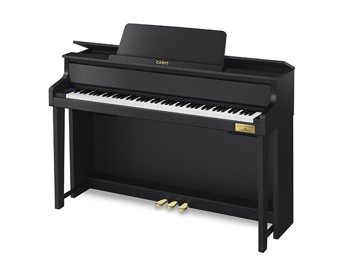 The new GP-310 and GP-510 Grand Hybrid pianos have some exciting new improvements.
