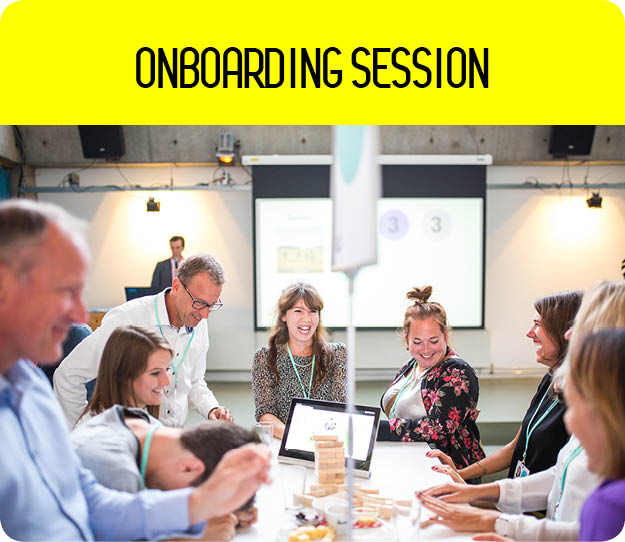 Onboarding session