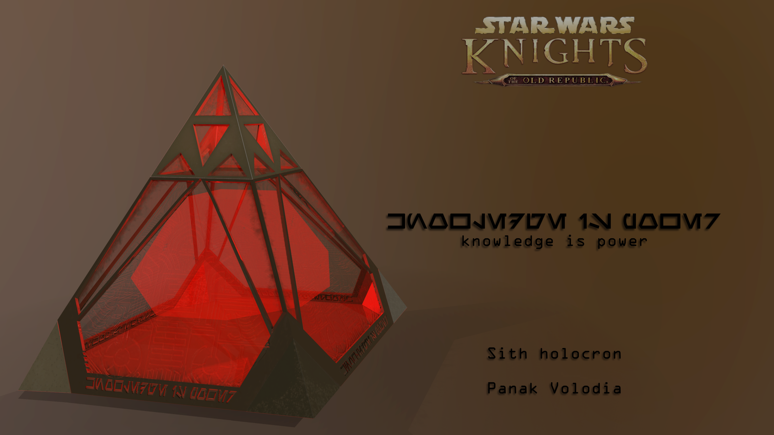 Sith Holocron