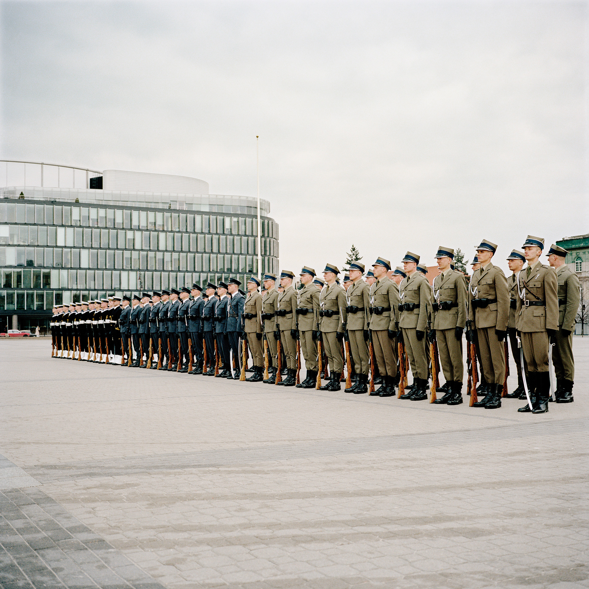 Leaving Minsk