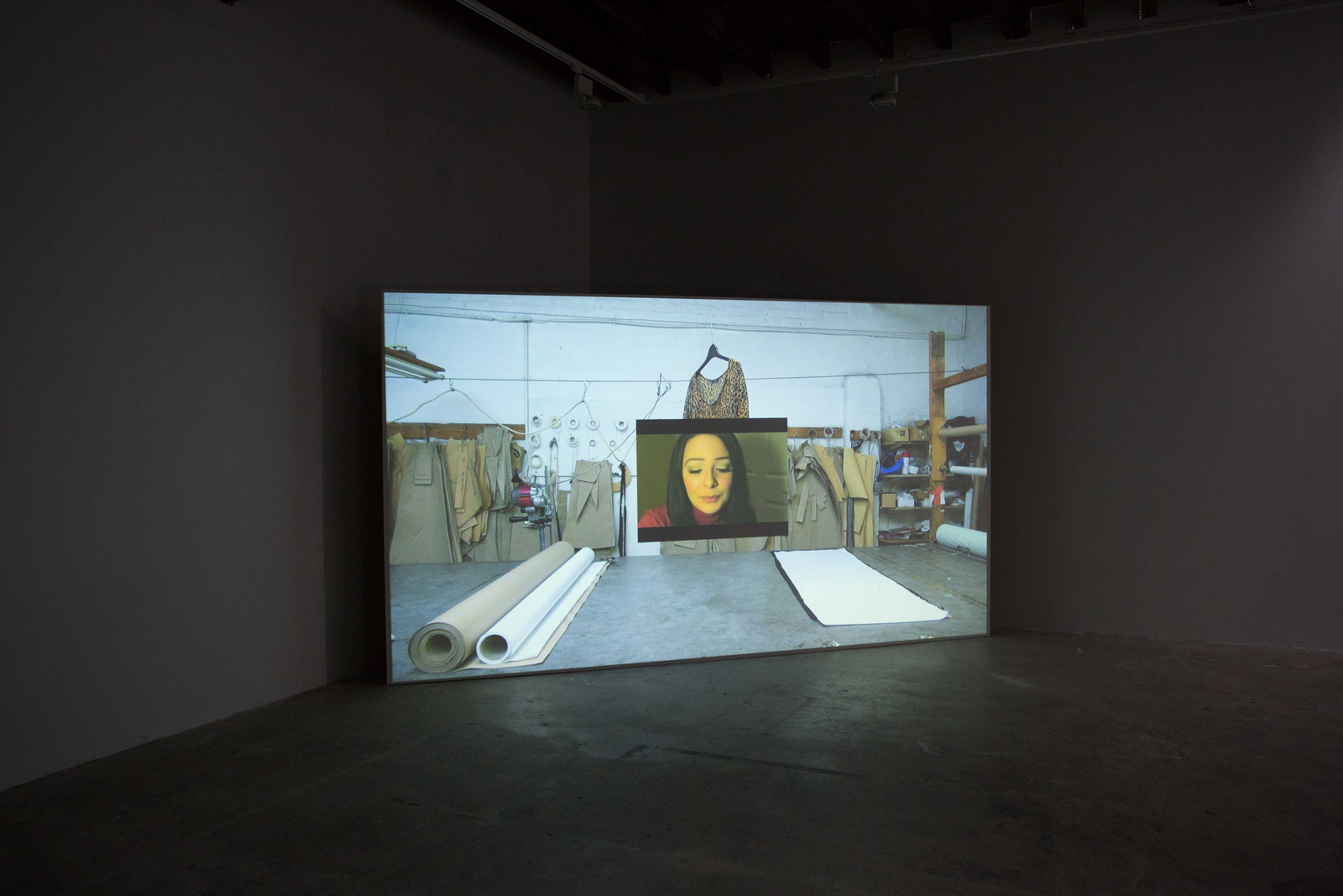 Shrugging Offing , 2013, Installation View at Limoncello, London, UK  View Trailer