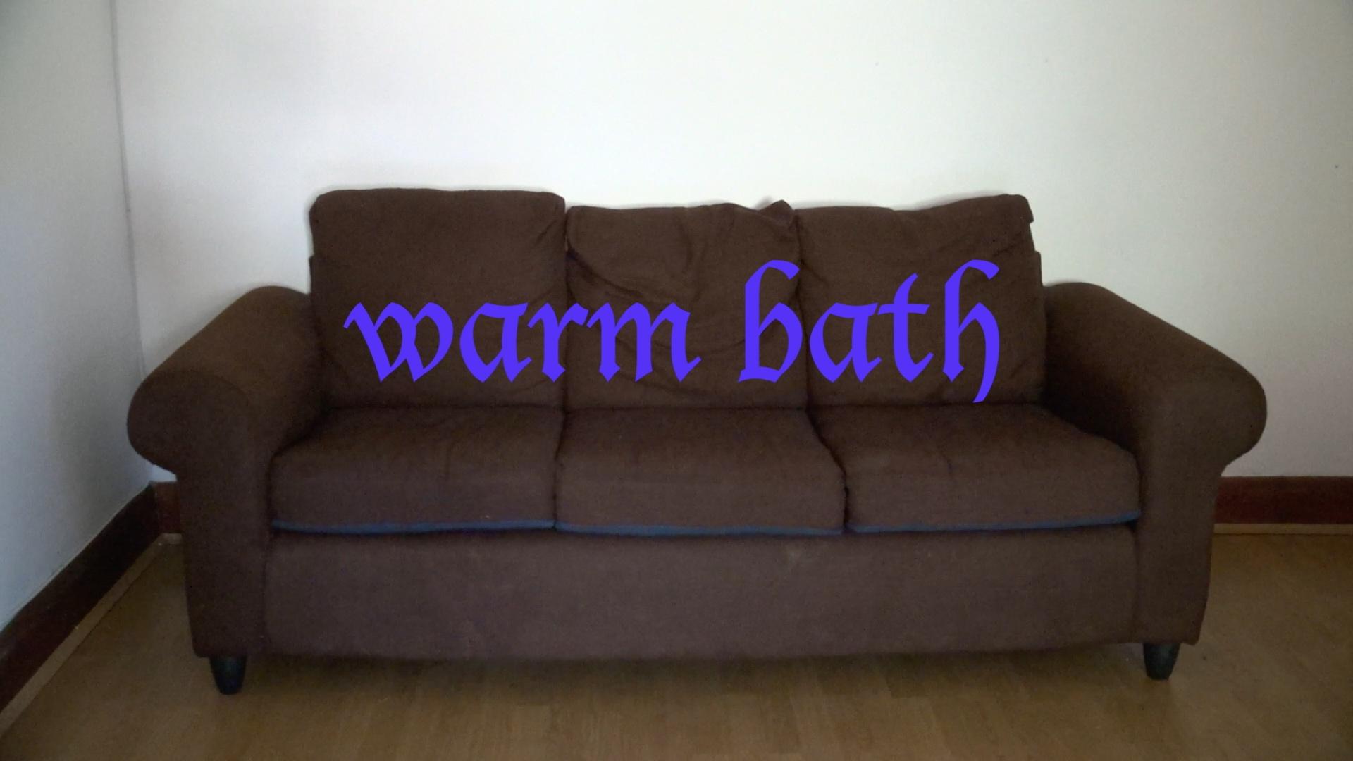 Warm Bath , 2016, Video Still, HD Video, 10'08''