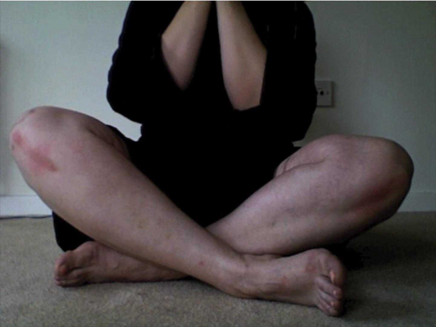 """Untitled , 2011, Video Still, Digital Video, 4'55""""."""
