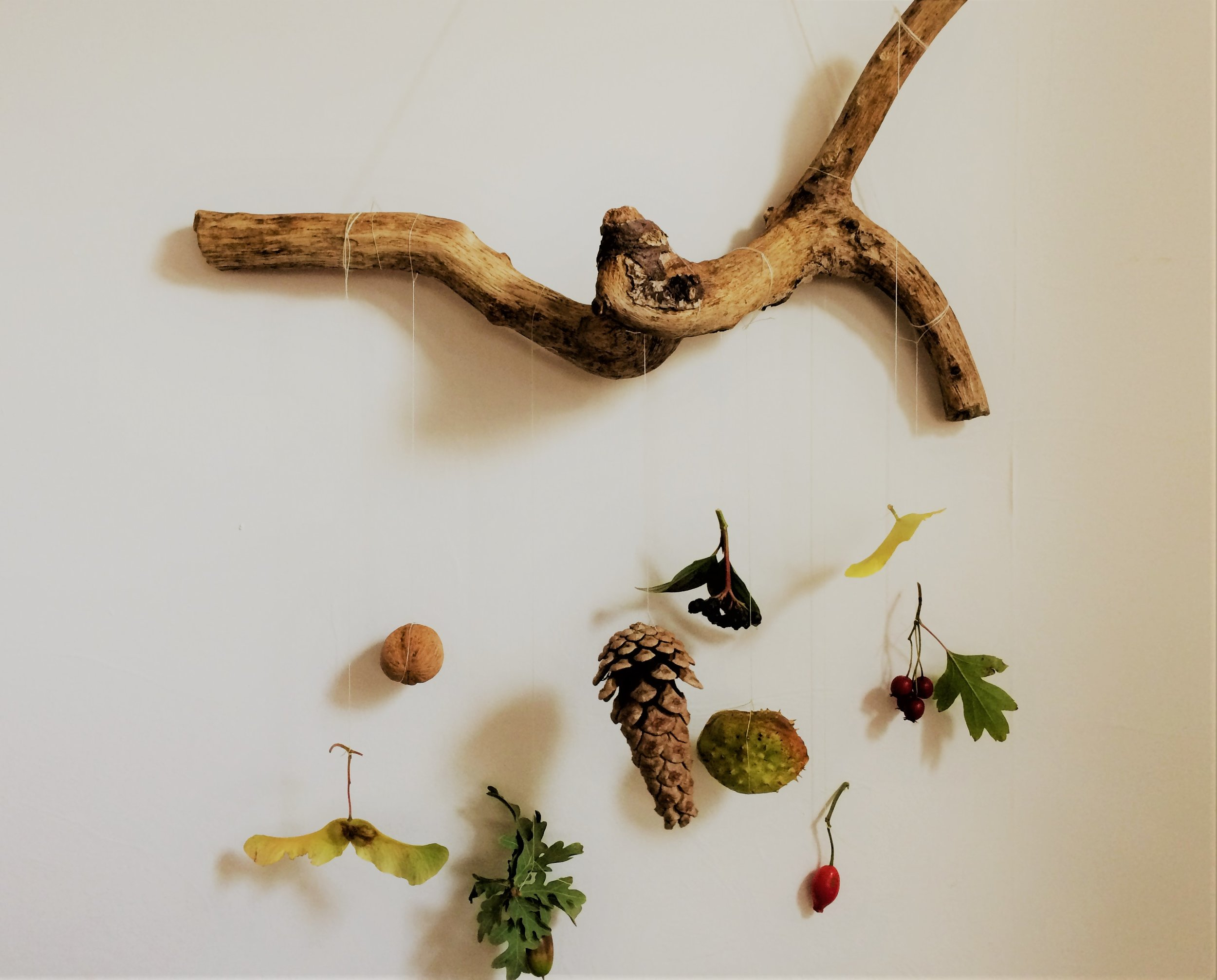 fall nature wall hanging
