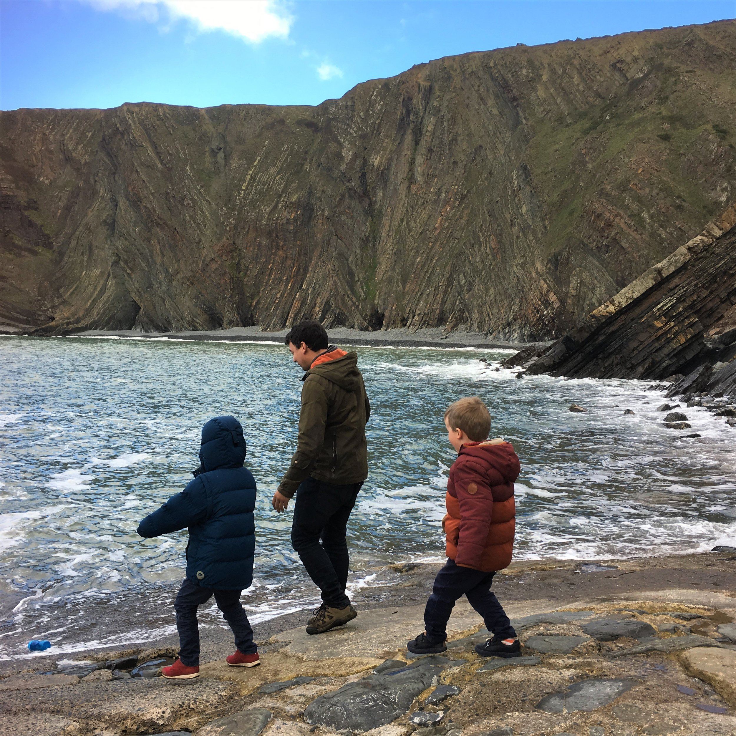Getting children out in nature in the autumn