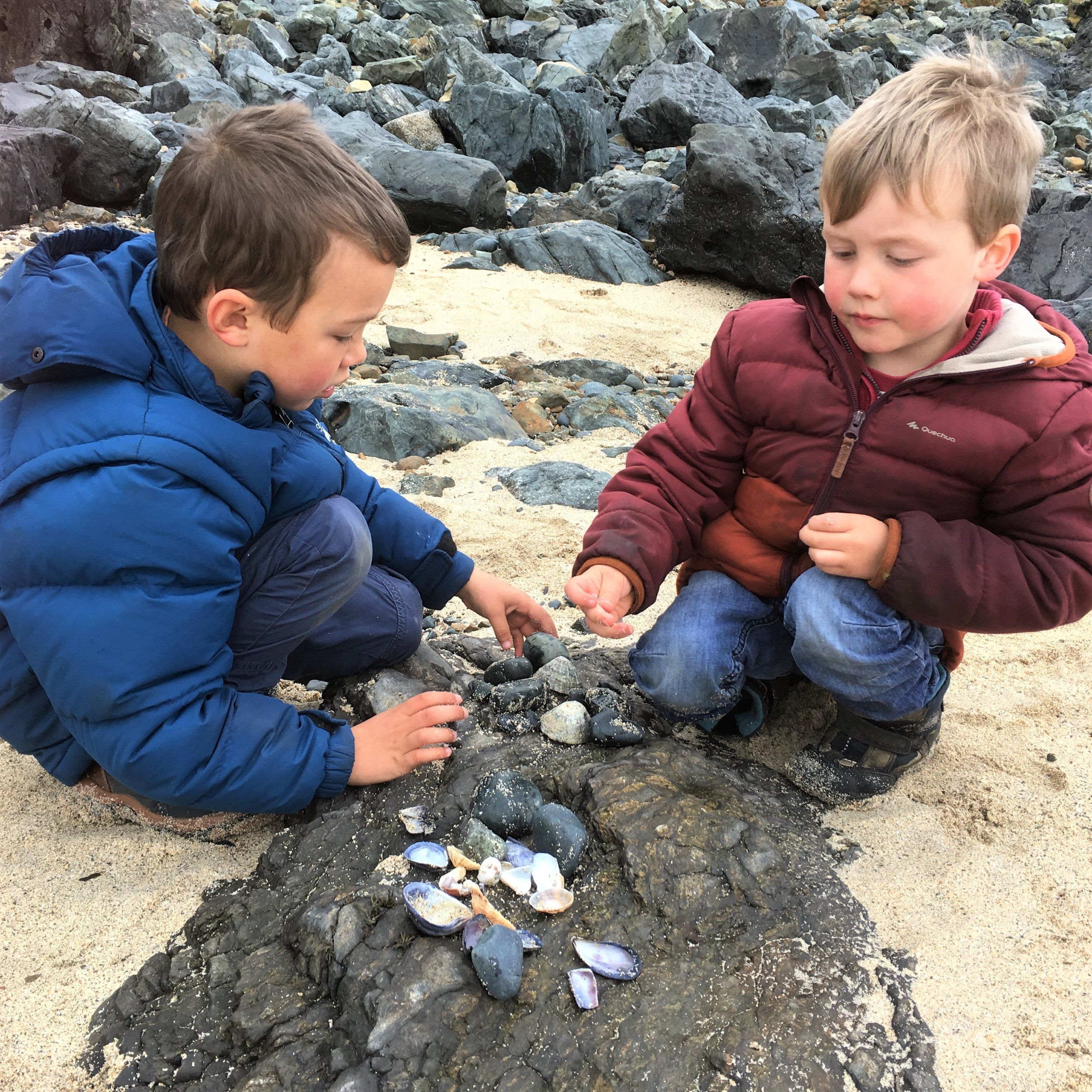 Importance of getting children out in nature
