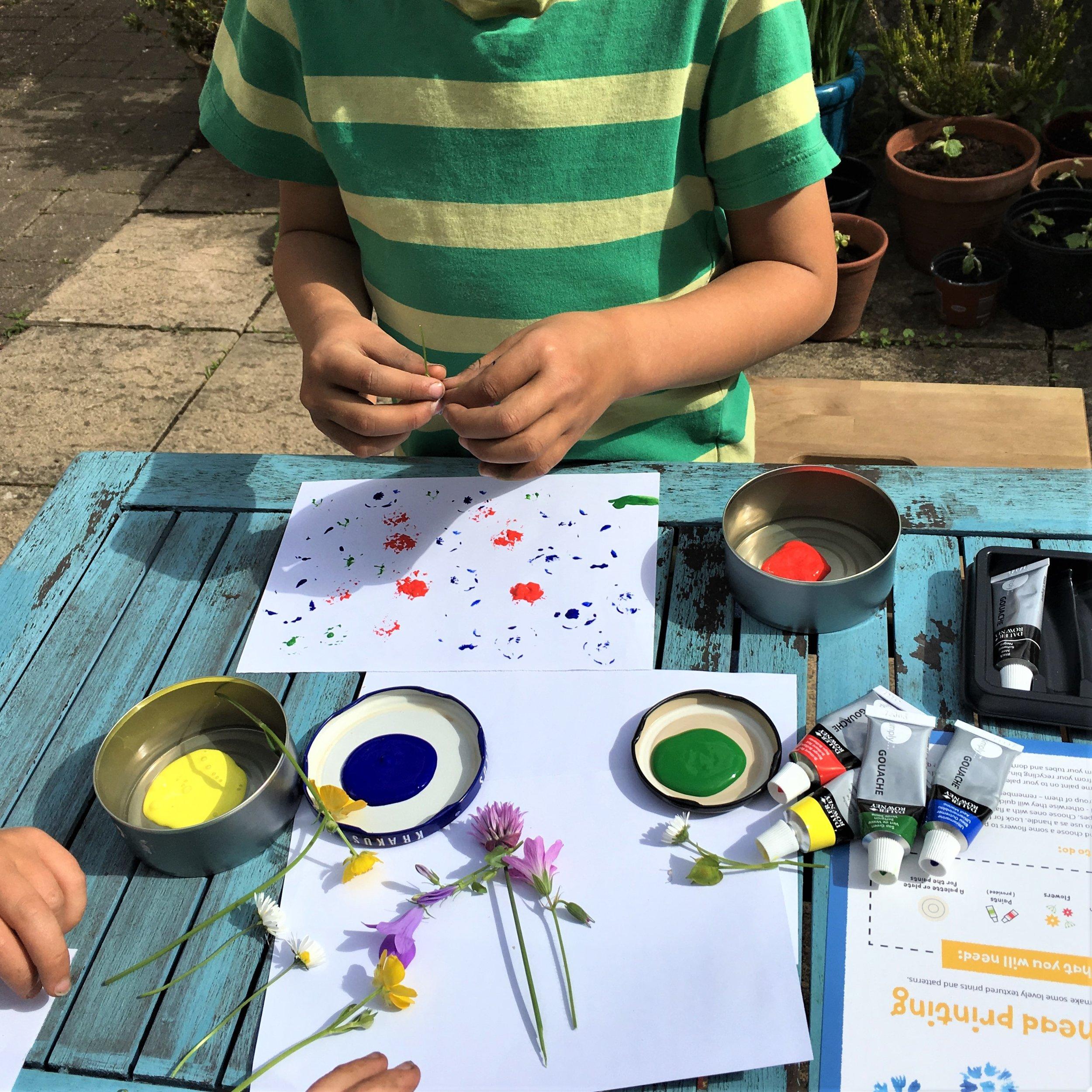 Plastic free eco children's crafts