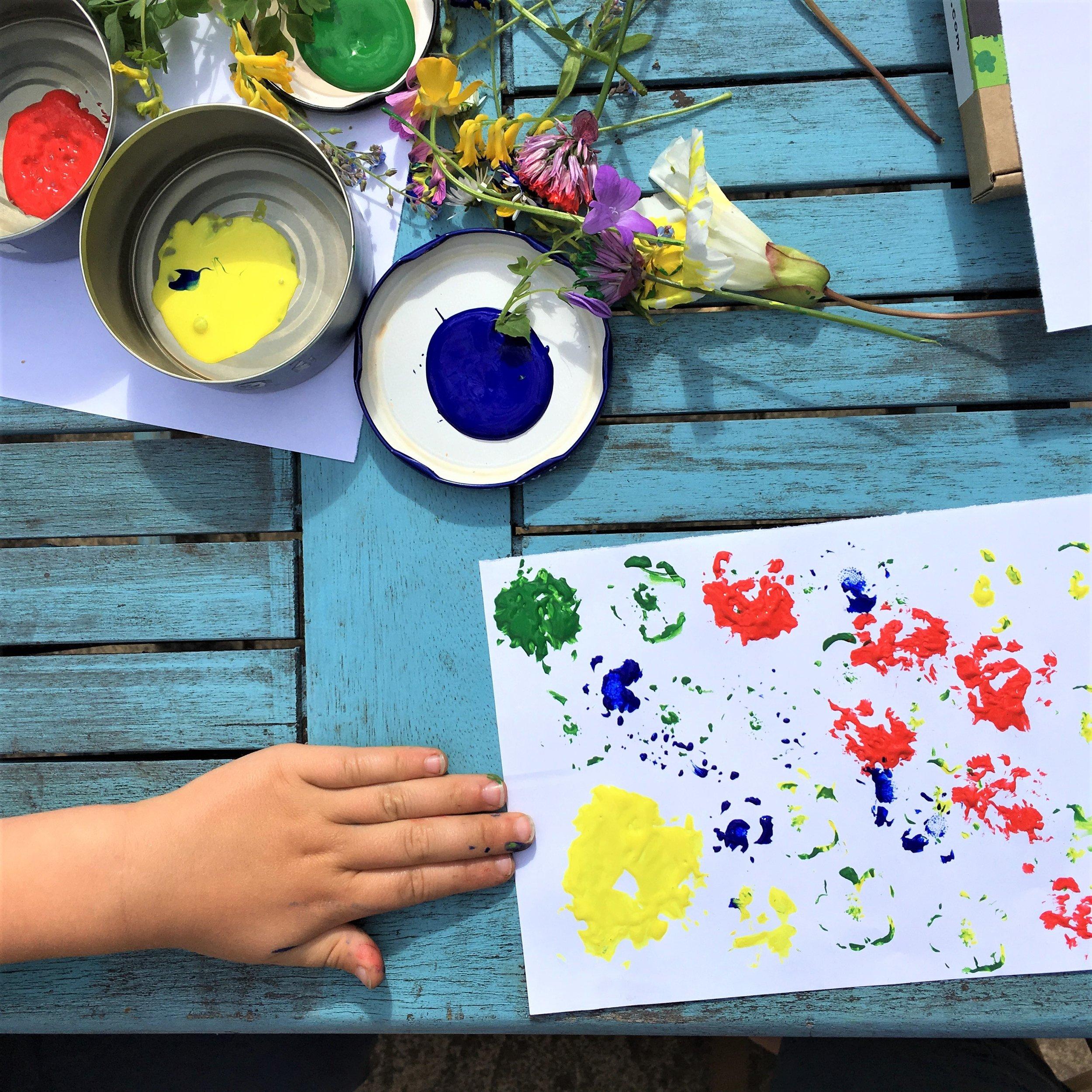 children's nature craft activities