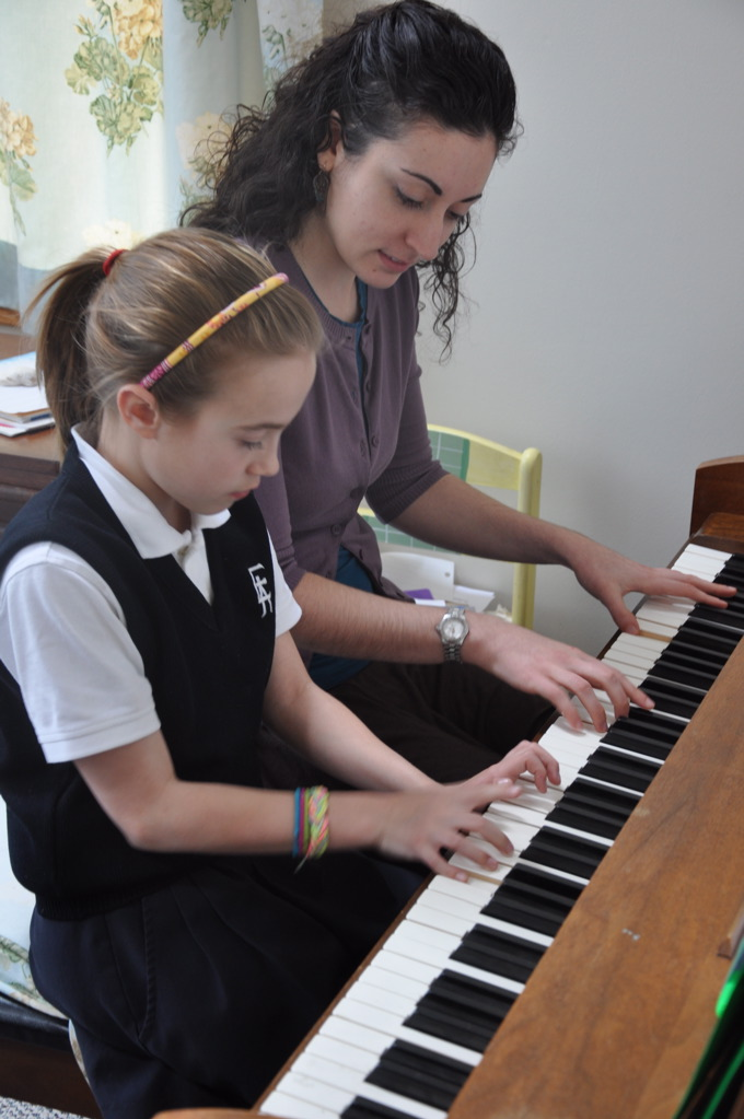 piano lessons Havertown pa in home main line