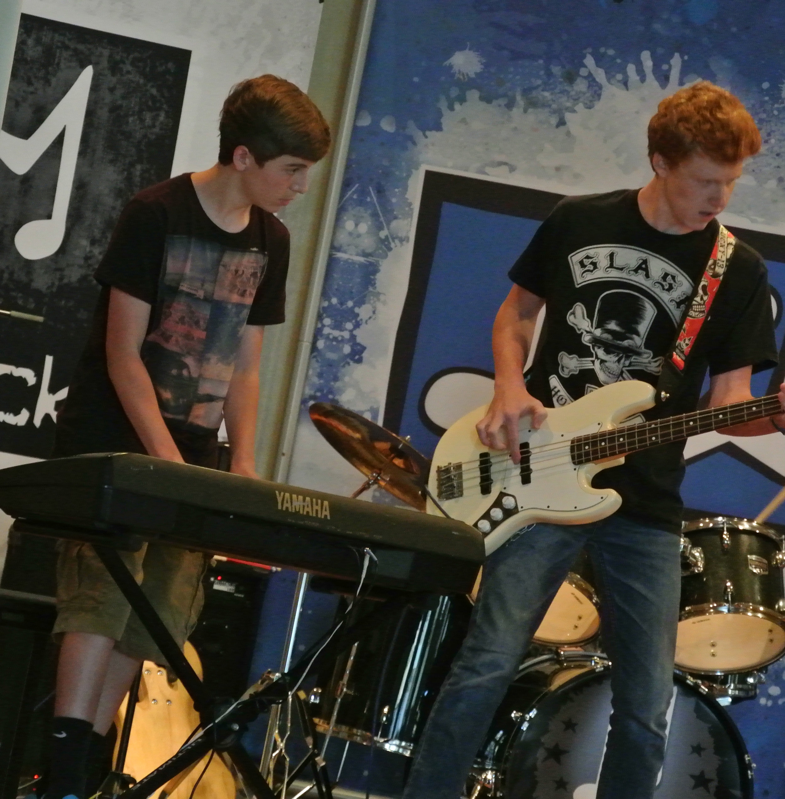 bass guitar drum lessons main line ardmore PA 19003
